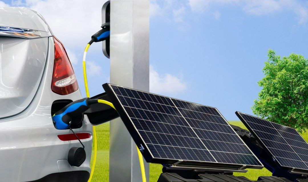 How Charging Your Electric Car Using Solar Panels can Make a Difference